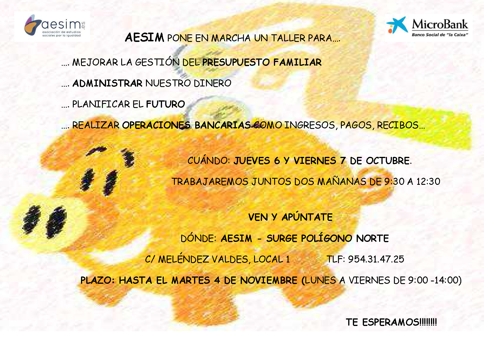 CARTEL TALLER EDUCACIÓN FINANCIERA 2016